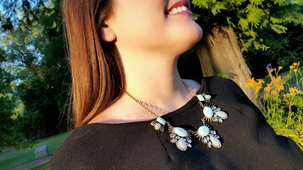 Bay to Bubbles: Leapona Gen Statement Necklace from my first Stitch Fix Box